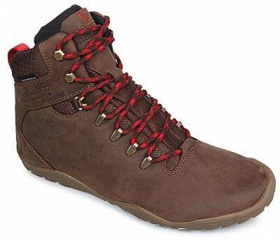 Dámská outdoorová obuv Vivobarefoot Tracker FG L Leather Dk Brown