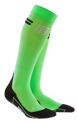 Ponožky CEP Běžecké podkolenky merino dámské viper / černá