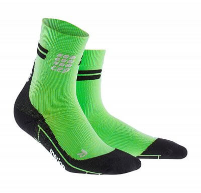 Ponožky CEP Krátké běžecké  ponožky merino pánské viper / černá