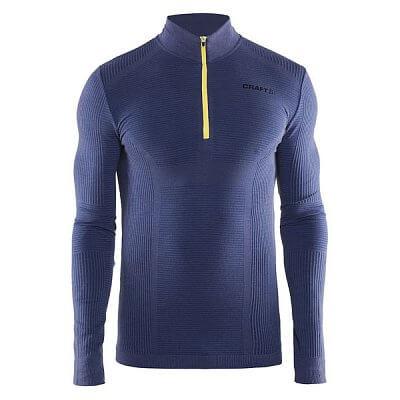 Pánské sportovní tričko Craft Triko Wool Comfort tmavě modrá
