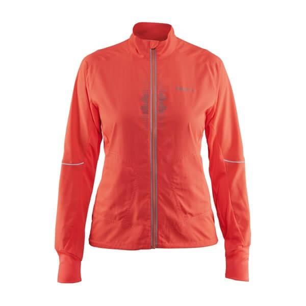 Dámska športová bunda Craft W Bunda Brilliant 2.0 Light oranžová