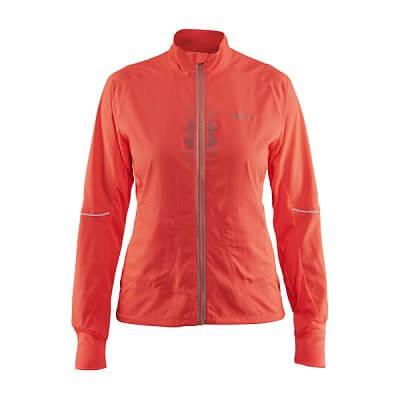 Dámská sportovní bunda Craft W Bunda Brilliant 2.0 Light oranžová