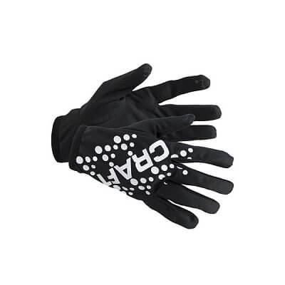 Rukavice Craft Rukavice Printed Jersey černá