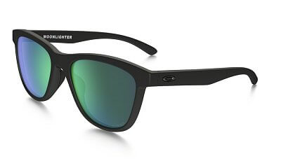 Oakley Moonlighter Matte Black w/Jade Irid Pol