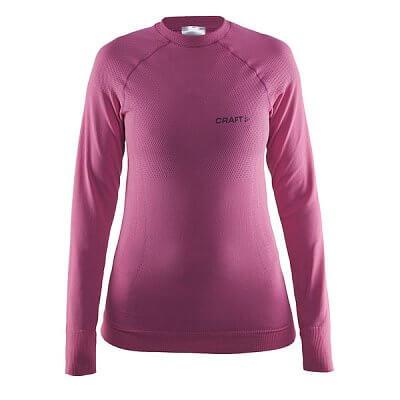 Dámské sportovní tričko Craft W Triko Warm CN růžová