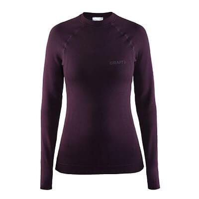 Dámské sportovní tričko Craft W Triko Warm CN fialová