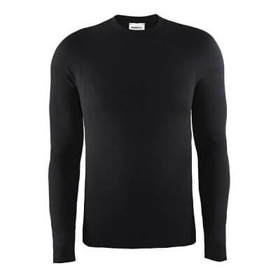 Pánské sportovní tričko Craft Triko Warm CN černá