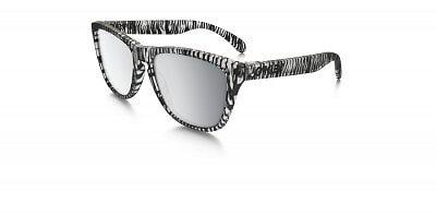 Sluneční brýle Oakley FROGSKIN  MATTE CLEAR CHROME IRIDIUM