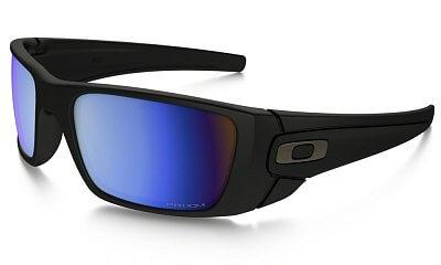 Sluneční brýle Oakley FUEL CELL  MATTE BLACK PRIZM DEEP BLUE POLARIZED