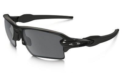 Sluneční brýle Oakley Flak 2.0 XL Pol Blk w/ Blk Irid