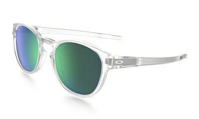 Sluneční brýle Oakley Latch Clear w/ Jade Iridium