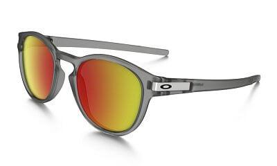 Sluneční brýle Oakley Latch Grey Ink w/ Ruby Iridium