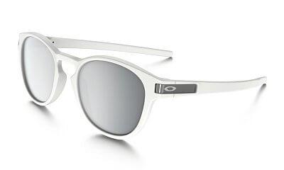 Sluneční brýle Oakley Latch Matte White w/ Chrome Irid