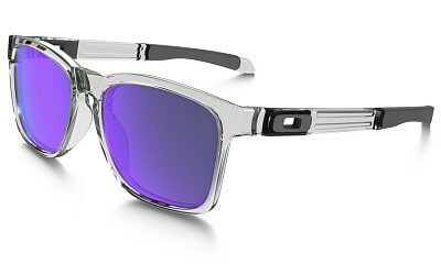 Oakley CATALYST  POLISHED CLEAR VIOLET IRIDIUM