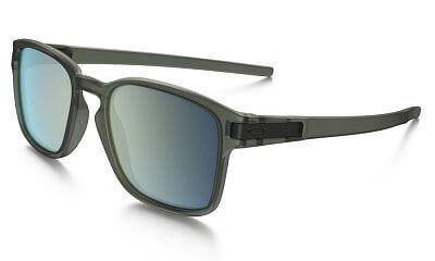 Sluneční brýle Oakley Latch SQ Matte Olive Ink w/Emerald Irid