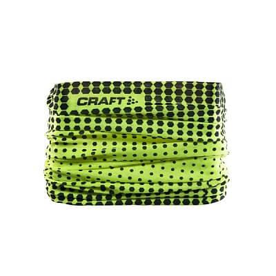 Doplňky oblečení Craft Nákrčník Neck Tube žlutá