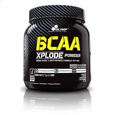 Aminokyseliny Olimp BCAA Xplode, 500g