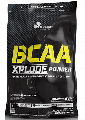 Aminokyseliny Olimp BCAA Xplode, 1000g