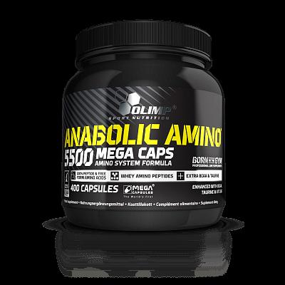Aminokyseliny Olimp Anabolic Amino 5500, 400 kapslí