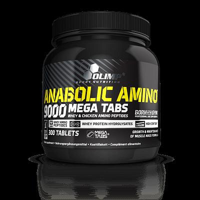 Aminokyseliny Olimp Anabolic Amino 9000, 300 kapslí