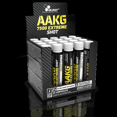 Aminokyseliny Olimp AAKG 7500 Extreme Shot, 1x25ml