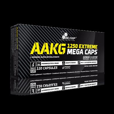 Aminokyseliny Olimp AAKG Extreme Mega Caps 1250, 120 kapslí