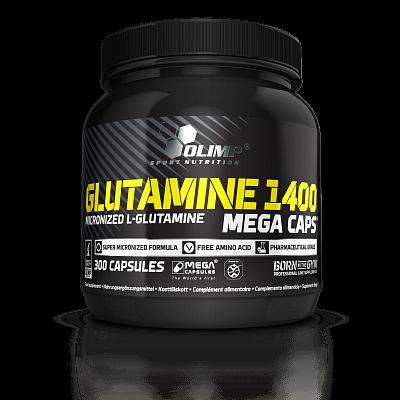 Aminokyseliny Olimp Glutamine Mega Caps 1400, 300 kapslí