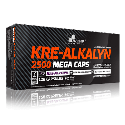 Olimp Kre-Alkalyn 2500, 120 kapslí