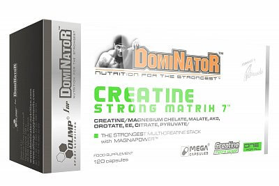 Kreatin Olimp DomiNator Creatine Strong Matrix 7®, 120 kapslí