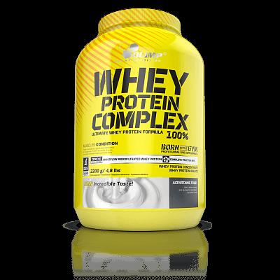 Proteiny - bílkoviny Olimp Whey Protein Complex 100%, 2200g