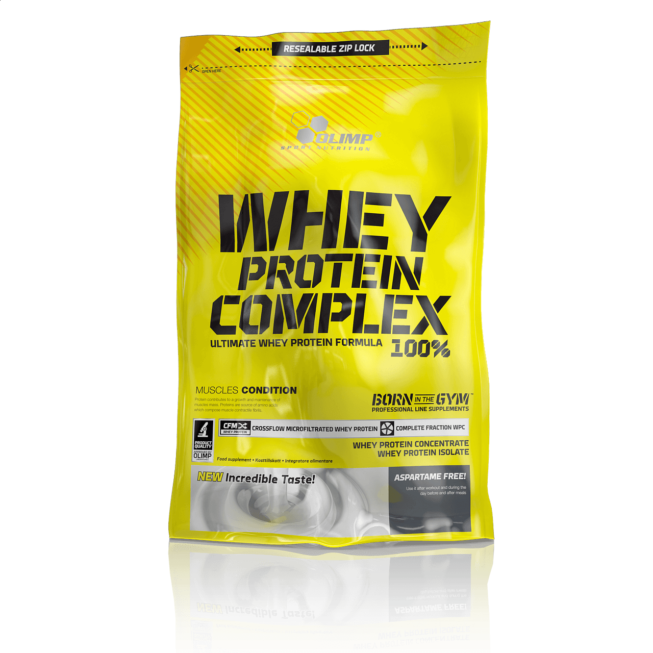 Proteiny - bílkoviny Olimp Whey Protein Complex 100%, 700g