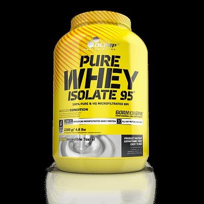 Proteiny - bílkoviny Olimp Pure Whey Isolate 95, 2200g