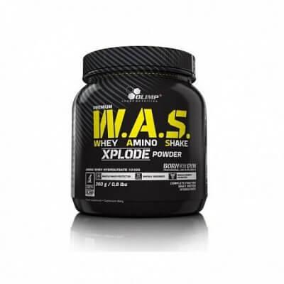 Proteiny - bílkoviny Olimp WAS Whey Amino Shake Xplode Powder, 360g