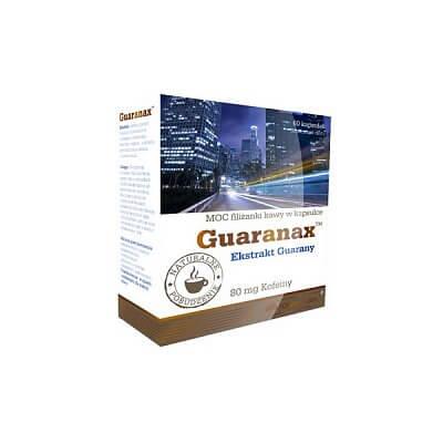 Anabolizéry a stimulanty Olimp Guaranax, 60 kapslí