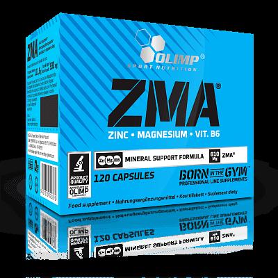 Vitamíny a minerály Olimp ZMA, 120 kapslí