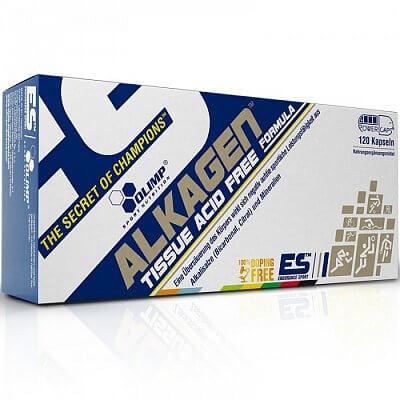 Vitamíny a minerály Olimp Alkagen Tissue Acid Free Formula, 120 kapslí