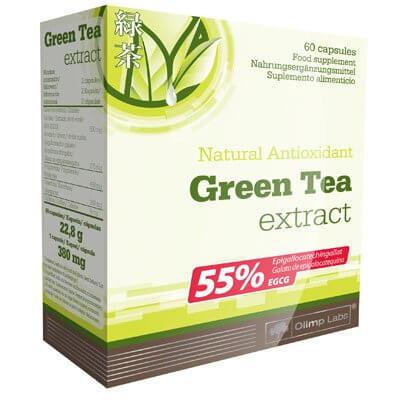 Vitamíny a minerály Olimp Green Tea Extract, 60 kapslí