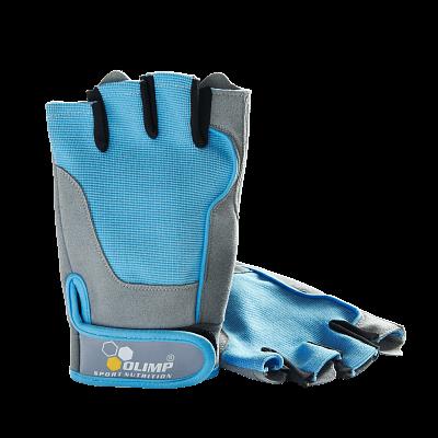 Fitness pomůcky Olimp Dámské rukavice Fitness One - Blue