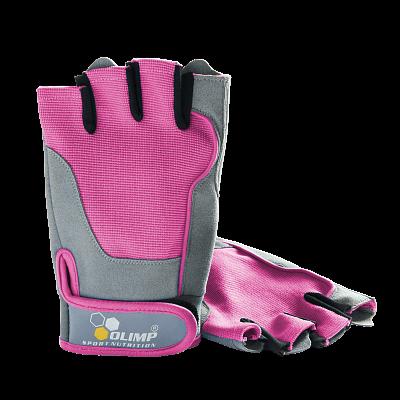 Fitness pomůcky Olimp Dámské rukavice Fitness One - Pink