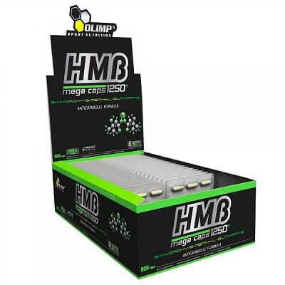 Anabolizéry a stimulanty Olimp HMB Mega Caps 1250, 30 kapslí