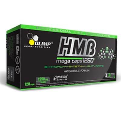 Anabolizéry a stimulanty Olimp HMB mega caps 1250, 120 kapslí