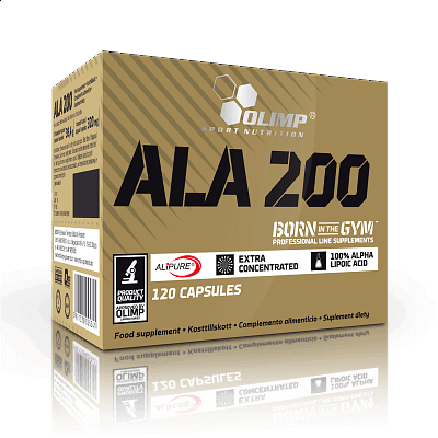 Vitamíny a minerály Olimp Antioxidant ALA 200, 120 kapslí