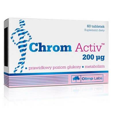 Spalovače tuků Olimp Chrom Activ, 60 tablet