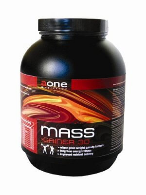 Sacharidy a gainery Aone Mass Gainer 30, 1500g