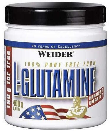 Aminokyseliny Weider L-glutamine, 400g