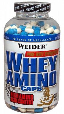 Aminokyseliny Weider Whey Amino Caps Komplexní Aminokyseliny, 280 kapslí