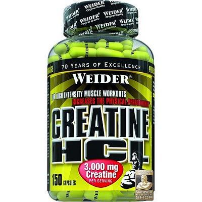 Kreatin Weider Creatine HCL, 150 kapslí