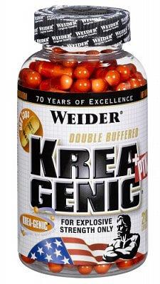 Kreatin Weider Krea-Genic+PTK, 208 kapslí