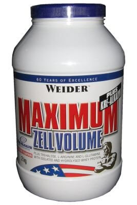 Kreatin Weider Maximum Zell Volume, 2000g