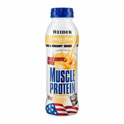 Nápoje Weider Muscle Protein Drink, 500ml